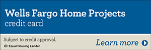 Wells Fargo Home Projects credit card