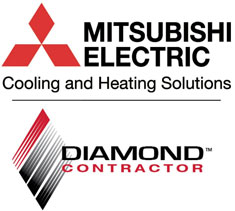 Mitsubishi Electric with Diamond Contractor