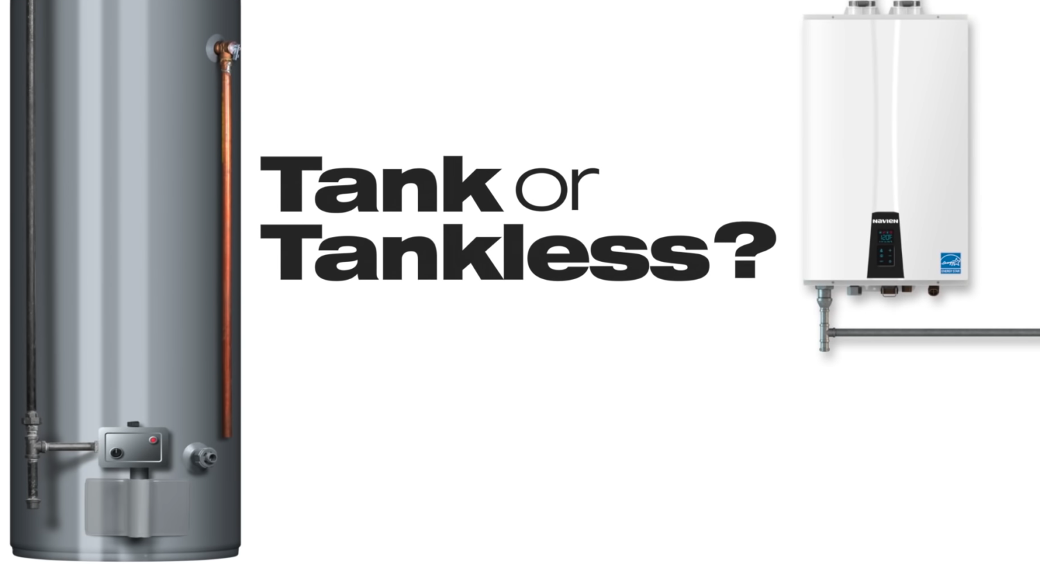 Do I Need a Tank or Tankless Water Heater?